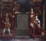Leemput, Remigius van Henry VII and Elizabeth of York (mk25) oil